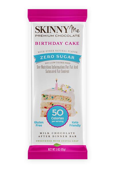 Birthday Cake Milk Chocolate Bars