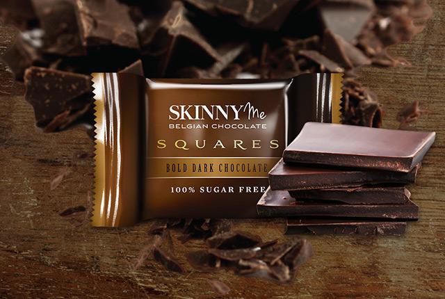 Bold Dark Chocolate Squares